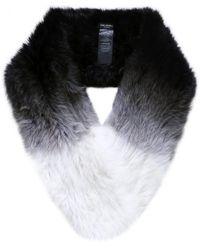 Yves Salomon | Multicolor Ombre Fur Loop Scarf | Lyst