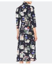 Vivetta Black Pangolino Safari Dress