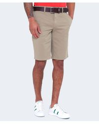 BOSS Orange | Natural Slim Fit Schino Shorts for Men | Lyst