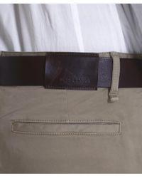 BOSS Orange - Brown Slim Fit Schino Chinos for Men - Lyst
