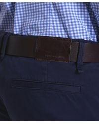 BOSS Orange - Blue Slim Fit Schino Chinos for Men - Lyst