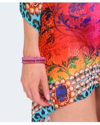 Butterfly - Pink Beaded The City Bracelet - Lyst