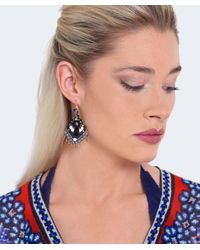 Butterfly - Metallic Beaded Shoreditch Chandelier Earrings - Lyst