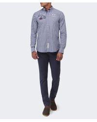 Cerruti 1881 - Blue Slim Fit Gabardine Jeans for Men - Lyst