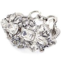Butterfly - Metallic Ice Crystal Decorative Bracelet - Lyst