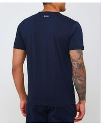 BOSS - Blue Regular Fit Tee 1 T-shirt for Men - Lyst