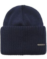 Stetson Blue Northpoint Merino Wool Hat for men