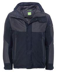 BOSS Green | Blue Jabs Jacket for Men | Lyst