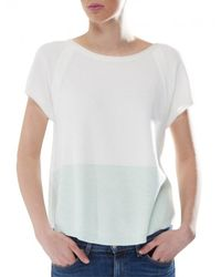 Duffy - Green Sporty Panel Top - Lyst