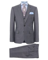Paul Smith | Blue Tailored Fit Three Piece Wool Suit for Men | Lyst