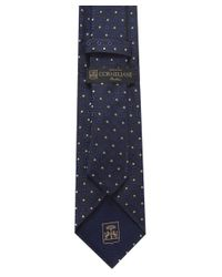 Corneliani - Blue Square Patterned Tie for Men - Lyst