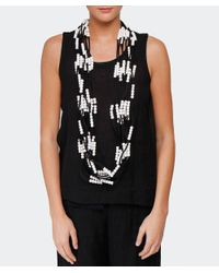 Jianhui | Black Pashmina Chain Necklace | Lyst