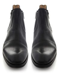 H by Hudson - Black Mitchell Boots for Men - Lyst