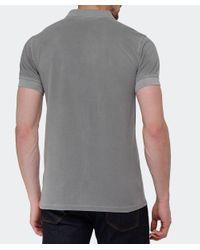BOSS - Gray Slim Fit Pascha Polo Shirt for Men - Lyst