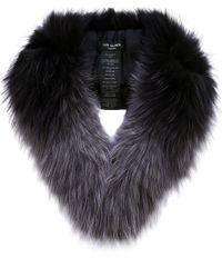 Yves Salomon | Multicolor Tipped Fur Collar | Lyst