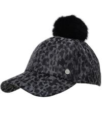 PS by Paul Smith - Gray Camo Pom Pom Baseball Cap - Lyst
