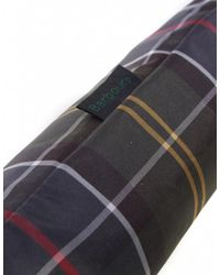 Barbour - Green Tartan Umbrella - Lyst