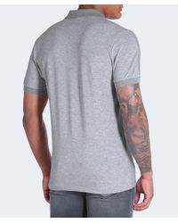 BOSS - Gray Paule Polo Shirt for Men - Lyst