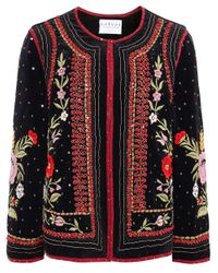 Velvet By Graham & Spencer - Red Velvet Adara Jacket - Lyst