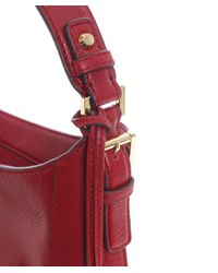 MICHAEL Michael Kors | Red Bedford Shoulder Bag | Lyst