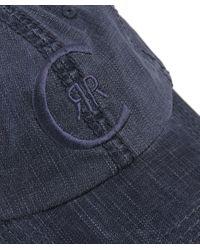 Cerruti 1881 - Blue Logo Cap for Men - Lyst