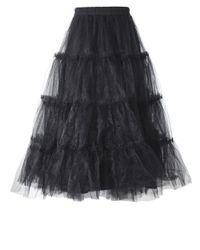 Rundholz - Black Tulle Skirt - Lyst