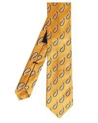 Ascot Accessories - Metallic Silk Patterned Tie for Men - Lyst