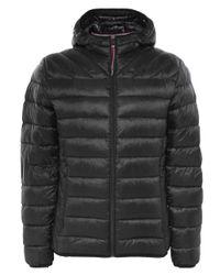 Napapijri - Black Hooded Aerons Jacket for Men - Lyst