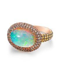 Susan Foster - Metallic Ethiopian Opal Ring - Lyst