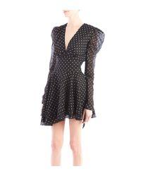 Alexandre Vauthier - Black & White Polka Dot Dress - Lyst