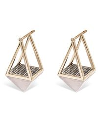 Noor Fares - Metallic Kristelle Earrings - Lyst