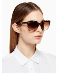Kate Spade - Multicolor Bayleigh Sunglasses - Lyst