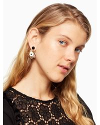 Kate Spade - Metallic Posy Grove Statement Earrings - Lyst