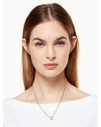 Kate Spade | Metallic Dainty Sparklers Pearl Pendant | Lyst