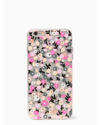 kate spade new york | Multicolor Ditsy Floral Iphone 6 Plus Case | Lyst