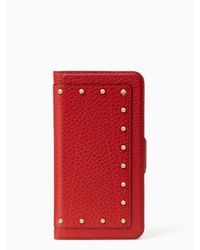 Kate Spade | Multicolor Iphone Cases Embellished Wrap Folio- 7 Plus | Lyst