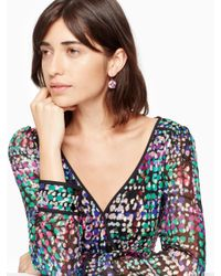 Kate Spade - Multicolor Shine On French Wire Drop Earrings - Lyst