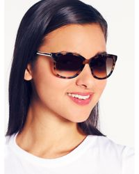 kate spade new york | Brown Gayla Sunglasses | Lyst