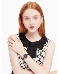 Kate Spade - Metallic Rose Dial Metro Watch - Lyst