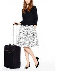 kate spade new york | Black Classic Nylon International Carry-on | Lyst