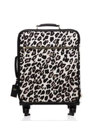 kate spade new york | Multicolor Classic Nylon Leopard International Carry-on | Lyst
