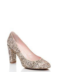 kate spade new york | Pink Dani Too Heels | Lyst