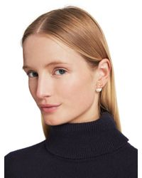 kate spade new york | Metallic Dainty Sparklers Bow Reversible Earring | Lyst