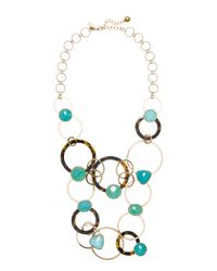kate spade new york | Multicolor Sun Kissed Sparkle Statement Necklace | Lyst