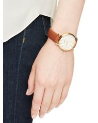 Kate Spade - Metallic Luggage Metro Watch - Lyst