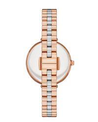 Kate Spade - Pink Holland Skinny Bracelet Watch - Lyst