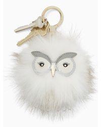 Kate Spade - Multicolor Snowy Owl Pouf - Lyst