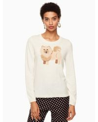Kate Spade - Multicolor Chow Chow Sweater - Lyst