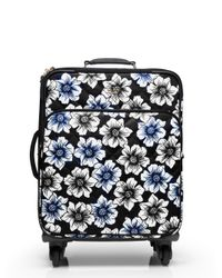kate spade new york | Blue Classic Nylon Hazy Floral International Carry-on | Lyst