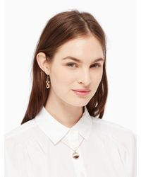 kate spade new york | Multicolor Shake Things Up Kick Up Your Heels Pendant | Lyst